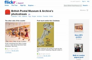 British Postal Museum and Archive photostream screenshot