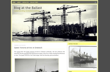 screenshot Ballast Trust blog