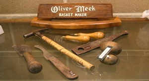 image of basket making tools