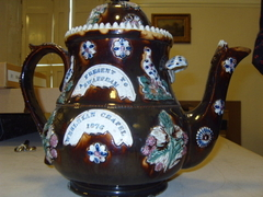 Image of Wesleyan tea-pot