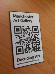 Image of QR label