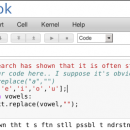 Installation notes on ipython-notebook